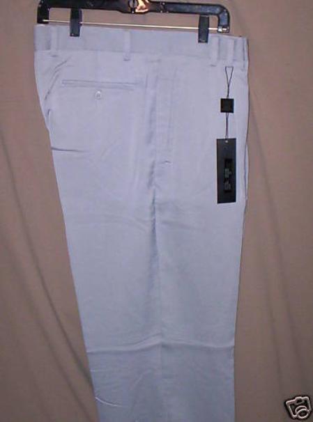 Product# KH822 long rise big leg slacks Light Blue ~ Sky Blue 1920s 40s Fashion Clothing Look ! Wide Leg Dress Pants Pleated Slacks baggy dress trousers
