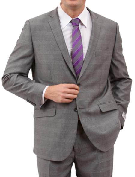 Product# M160S000 Light Grey 2 Button Style Front Closure Suit