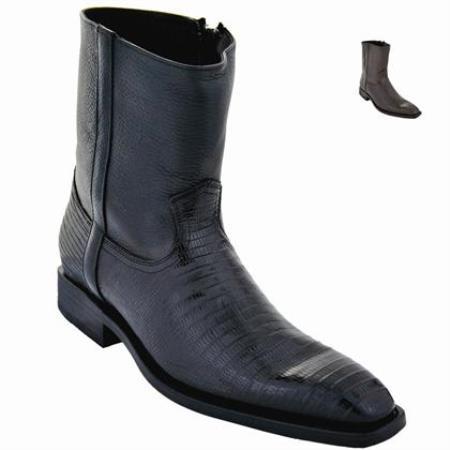 Lizard Skin Ankle Boot