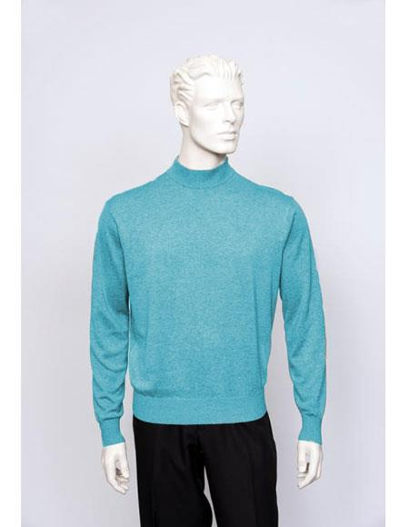 Mens TULLIANO Solid Silk