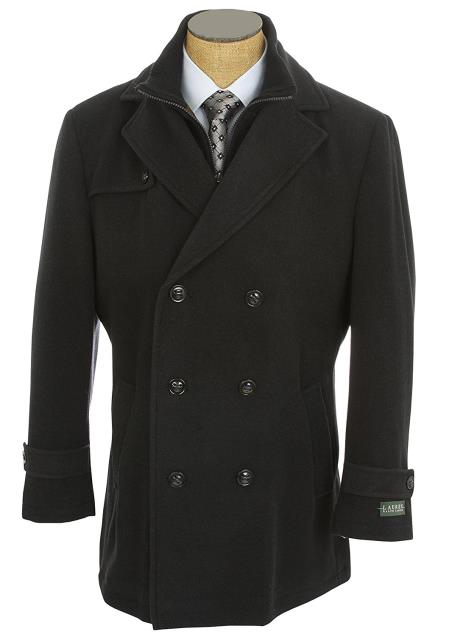 Product# SM4763 Lauren Ralph Lauren Double Breasted Peacoat