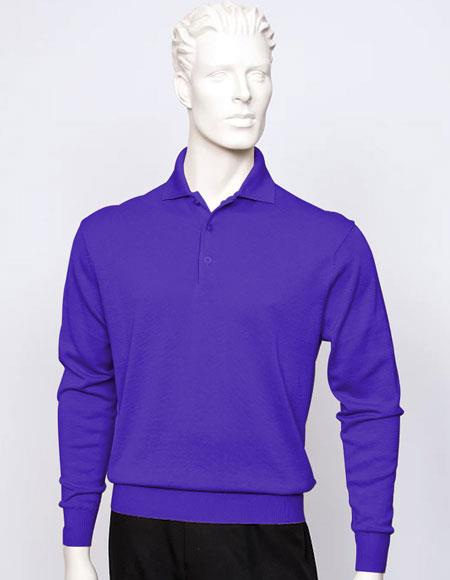 Tulliano mens Purple long