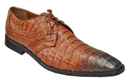 Product# PN_A6 Authentic Los altos Cognac / brown color shade Genuine Crocodile ~ Alligator skin / Lizard Shoes for Online