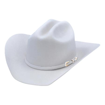 Product# KA5367 Authentic Los altos Hats-Texas Style Felt Cowboy Hat– Gray