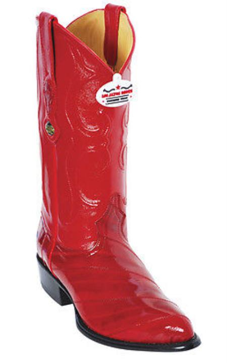 Product#KA2875 Eel Classy Vintage Riding red color shade Authentic Los altos Western Boots Cowboy Classics