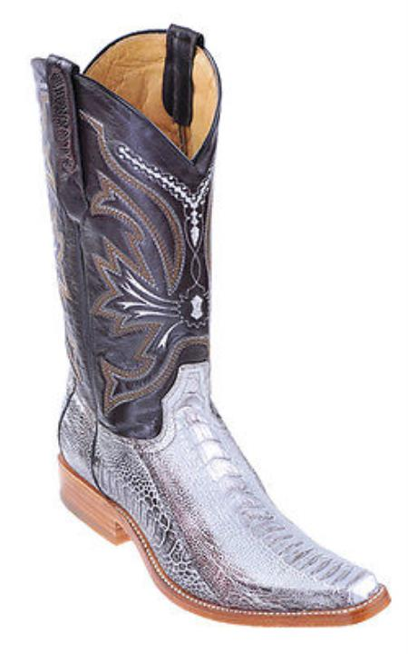 Ostrich Leg Silver Authentic