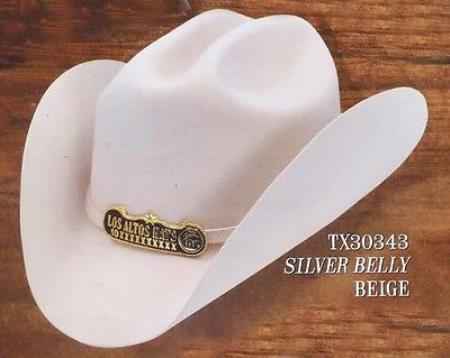 e42816a1a Product# PN_2M Cowboy Hat Duranguense Style 10X Felt Hats By Authentic Los  altos Silver Belly