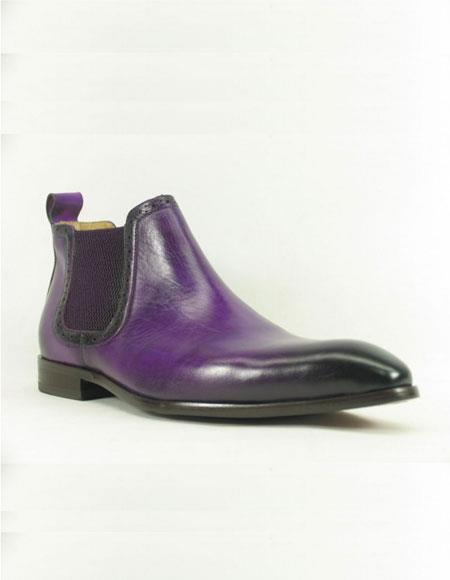 Mens Purple ~ Black