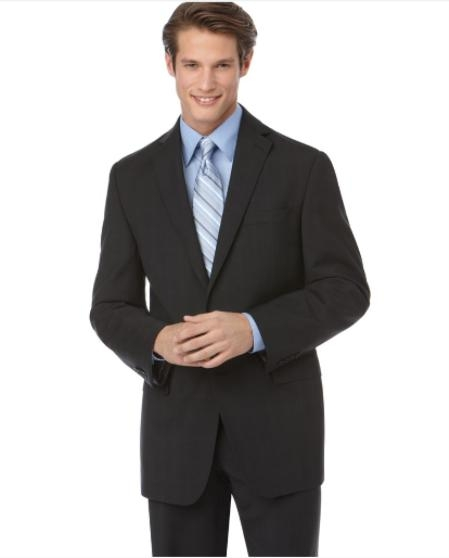 NE924 Authentic Mantoni Brand Suit, Liquid Jet Black Tonal Check Slim narrow Style Fit