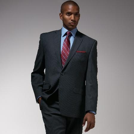 Mantoni Brand Charcoal Color Suit
