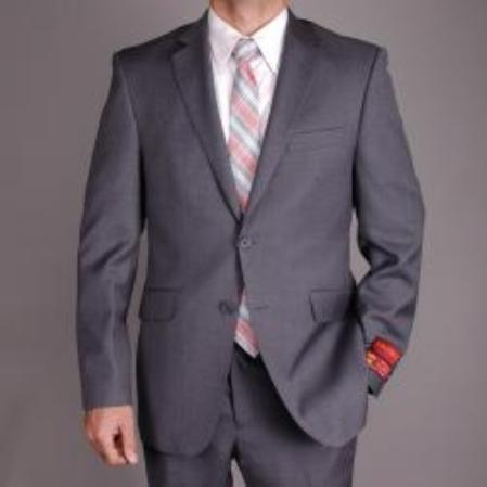Mantoni Charcoal Gray Color Suit