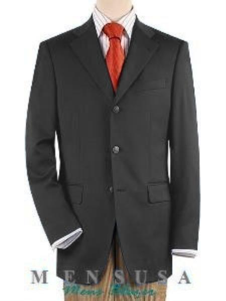 Notch Lapel Medium Grey