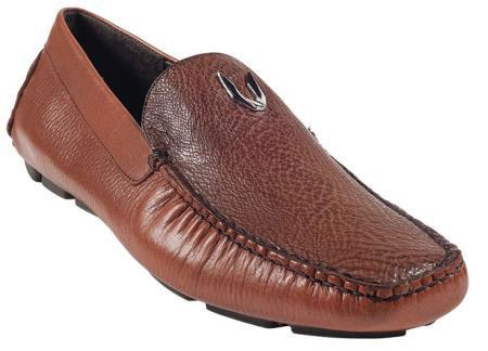 Cognac Genuine Shark Driver