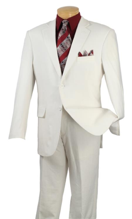 Product# PNU68 2 Button Style Suits for Online White