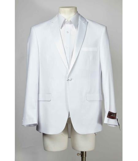 1 Button Style White
