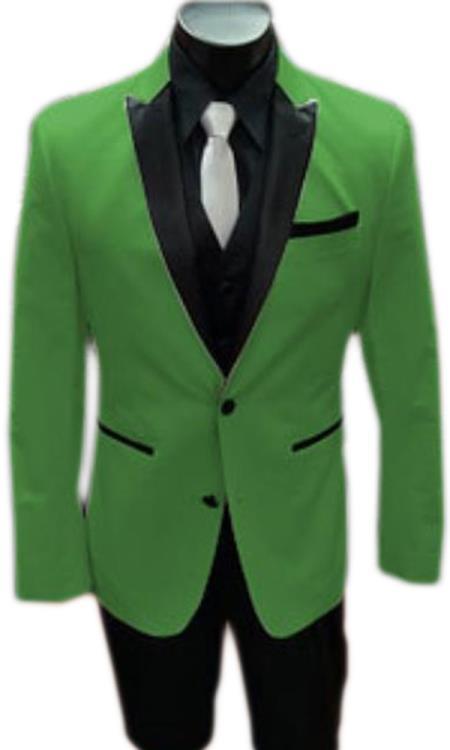 Alberto Nardoni Best men's Italian Apple Green Suits Brands Tuxedo