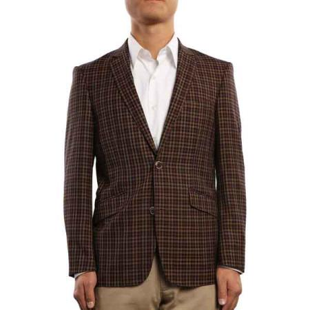 narrow Style Fit brown