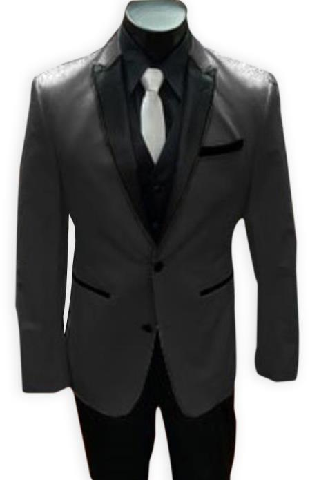 Alberto Nardoni Best men's Italian Charcoal Grey Suits Brands Tuxedo