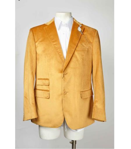 Gold Blazer ~ Suit