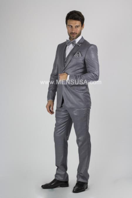 Notch Lapel Slim narrow
