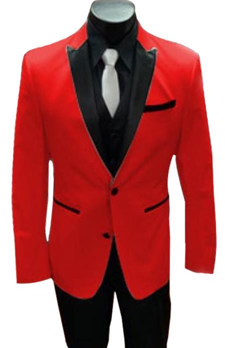Alberto Nardoni Best men's Italian Red Suits Brands Tuxedo