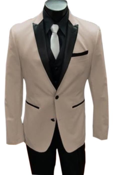 Tan Tuxedo - Khaki Tuxedo Stage Alberto Nardoni Best men's Italian Tan Suits Brands Tuxedo
