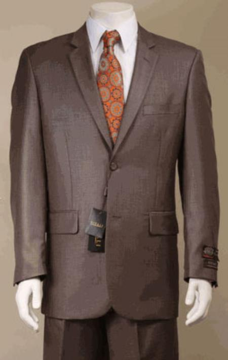 KA5889 Big and Tall Size 56 to 72 2-Button Suit Textured