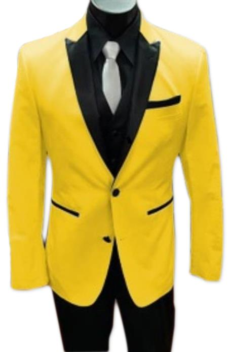 Alberto Nardoni Best men's Italian Yellow Suits Brands Tuxedo