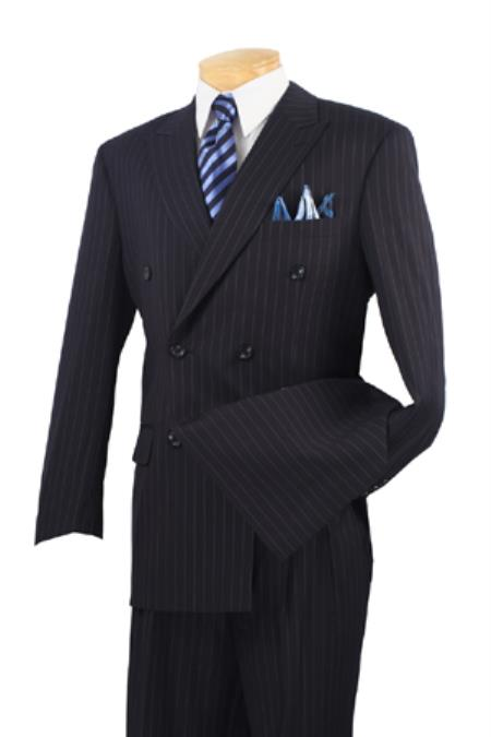Product# PN82 Executive 2 Piece Suit Liquid Jet Black