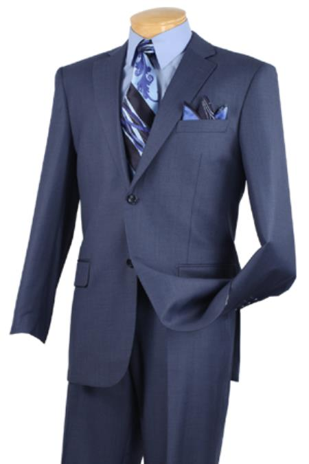 Product# KA6639 Executive 2 Piece Suit Blue