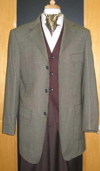 Testardi Brand 3 Buttons Checker Pattern 95% Wool,5% Cashmere Sport Jacket Blazer ~ Suit Jacket Gold/Brown Coat