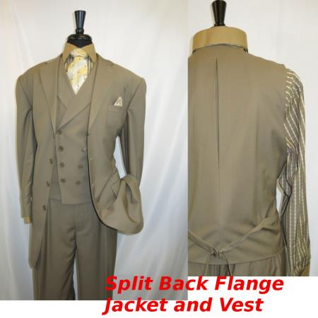 d49ebc287ce738 Product# SS-471 4 Button Style Single Breasted Suit For sale ~ Pachuco Mens