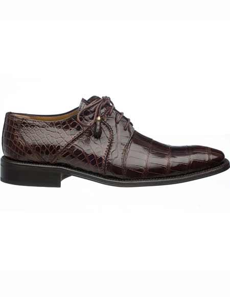 Mens Ferrini Tasseled Laces