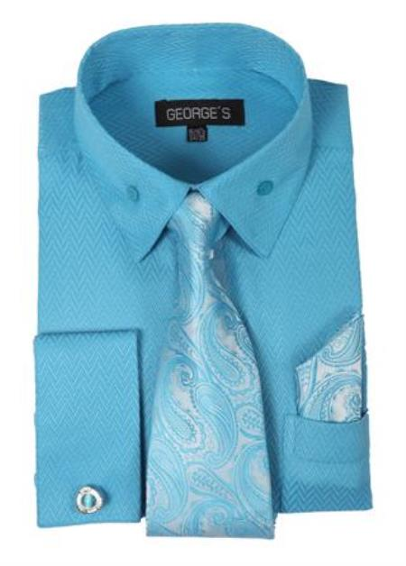 Fashion Dress Shirt Set