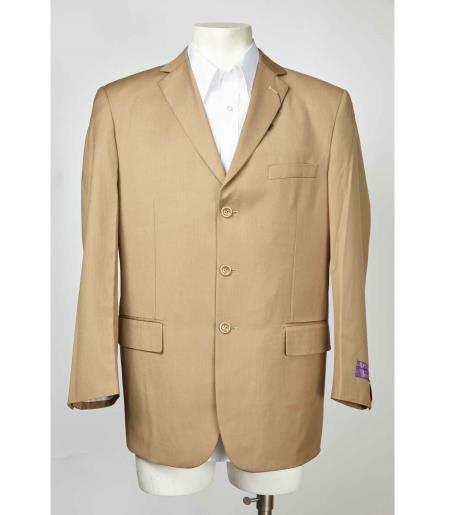 Notch Lapel Beige 3