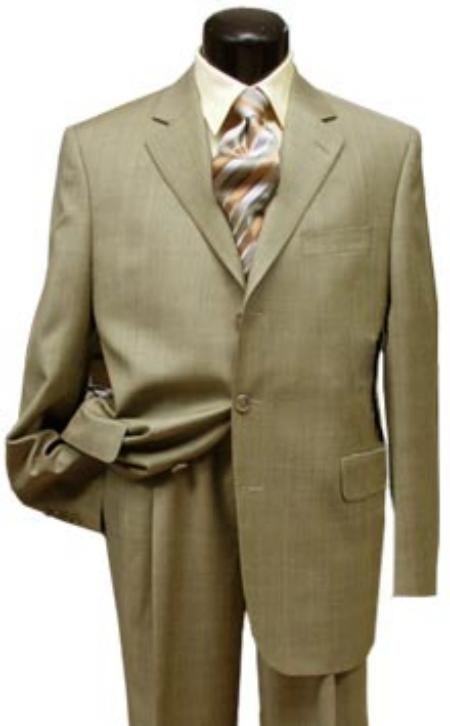 Mens-Beige-Color-Suit &