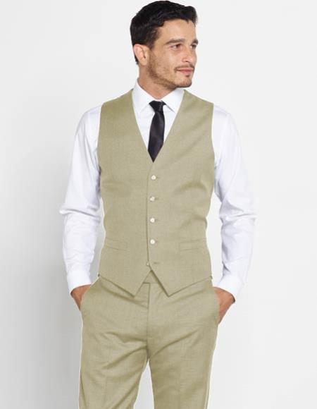 Mens Vest + Matching