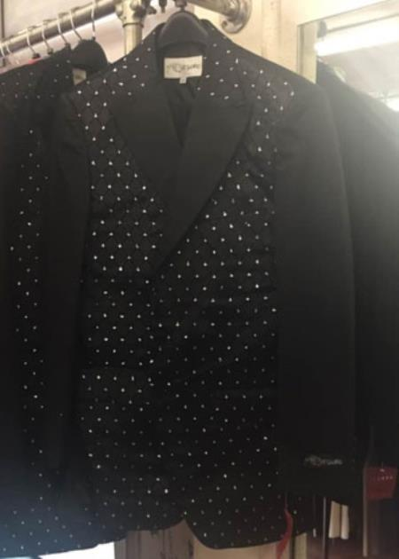 Liquid Jet Black Blazer