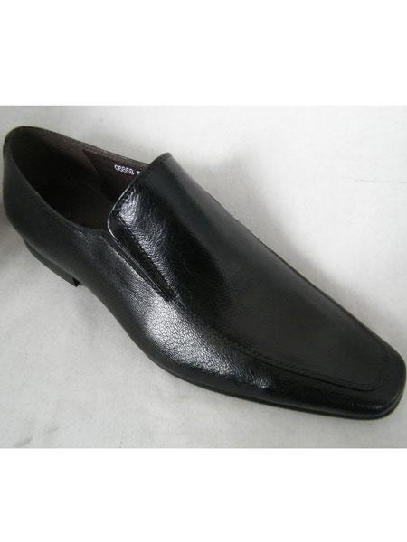 Mens Black Shoes High