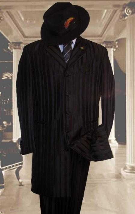Product# FJS146 Tonal Shadow Pinstripe tone on tone Tuxedo Pattern Come in 3 Colors Suit
