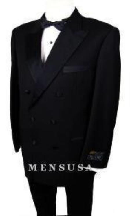 Product# W110 2-Button Peak Lapel Double Breasted 1920s Style 1920s tuxedo style 6 on 2 Button Style Closer Style Jacket