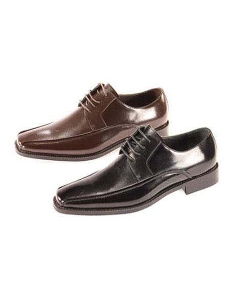 Brown Dress Shoe Oxford Shoes for Online Available in Liquid Jet Black & brown color shade