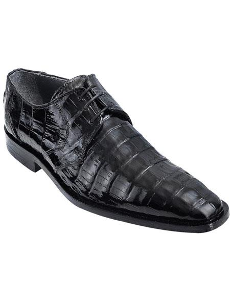 Mens Genuine Caiman Belly