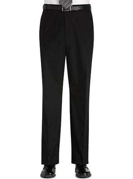 Product# KA3770 Flat Front Regular Rise Slacks