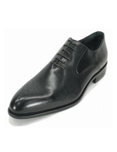 Mens Black Fashionable Carrucci