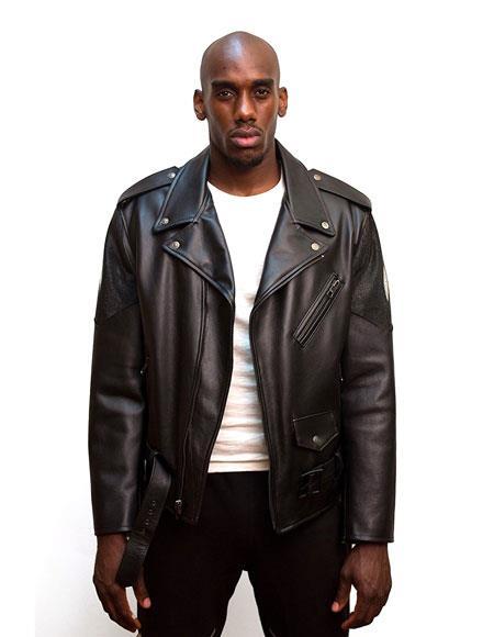 G-Gator Mens Black Leather