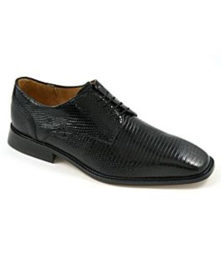 Product# AII703 Belvedere attire brand-Olivo-genuine lizard upper fully leather-lined interior cushioned leather insole leather
