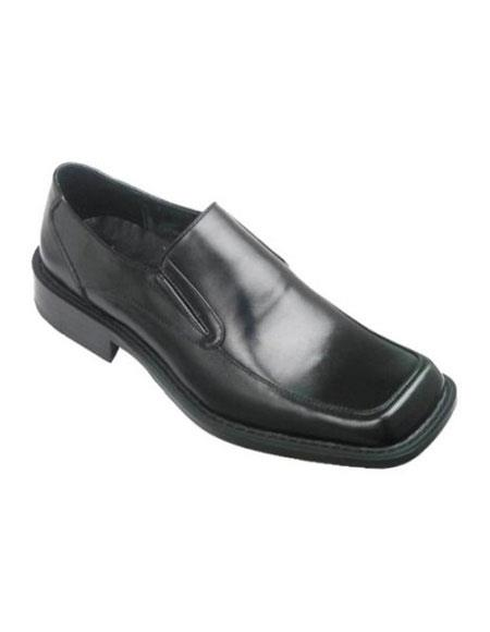 Zota Mens Black Slip-On