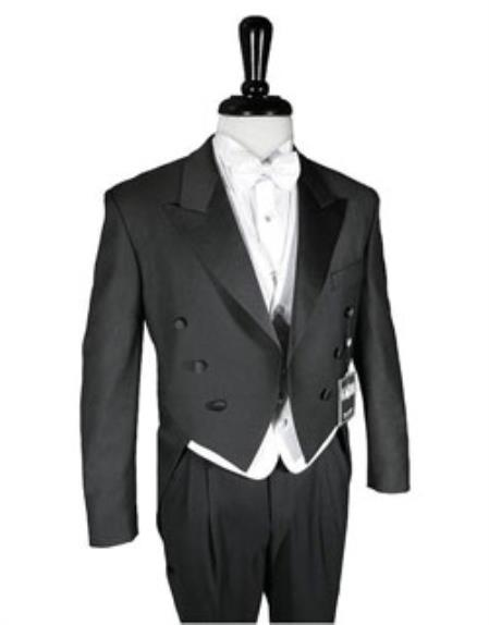 Super 150s Peak Tailcoat