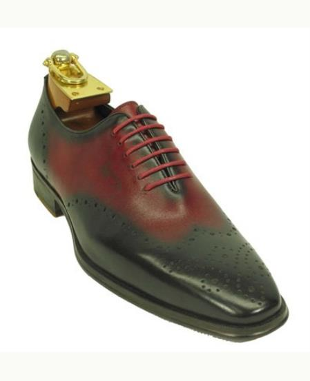 Mens Lace Up Style